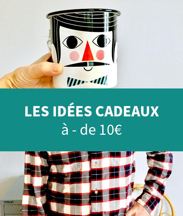 des idees cadeaux a moins de 10€ pour petits budgets